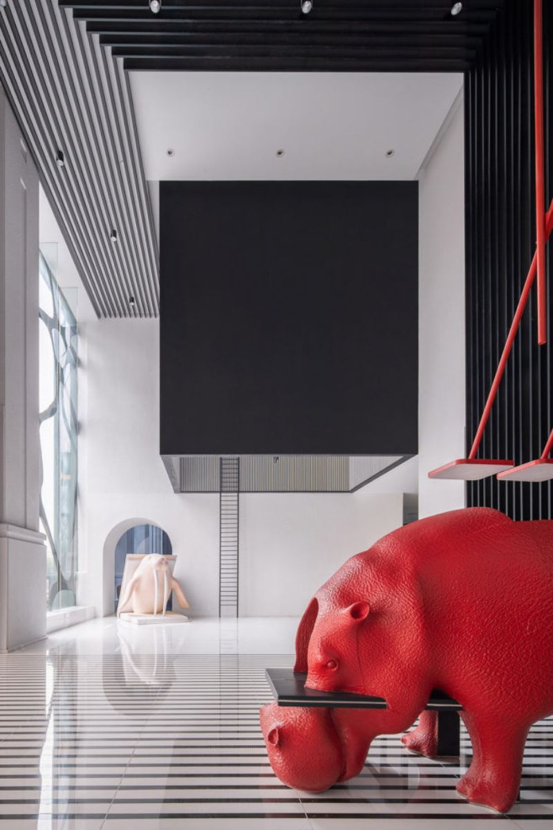Inside A Wild Hotel Interior Design: Project by Studio X+Living hotel interior design Inside A Wild Hotel Interior Design: Project by Studio X+Living Inside A Wild Hotel Design Project by Studio XLiving 2