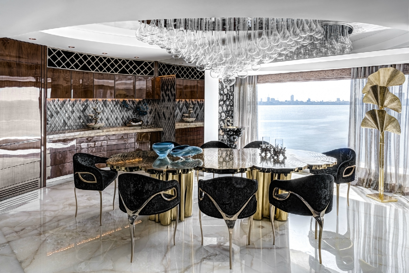 zz architects ZZ Architects Design Projects: A Luxury Apartment in Mumbai ZZArchitects featured 1400x933