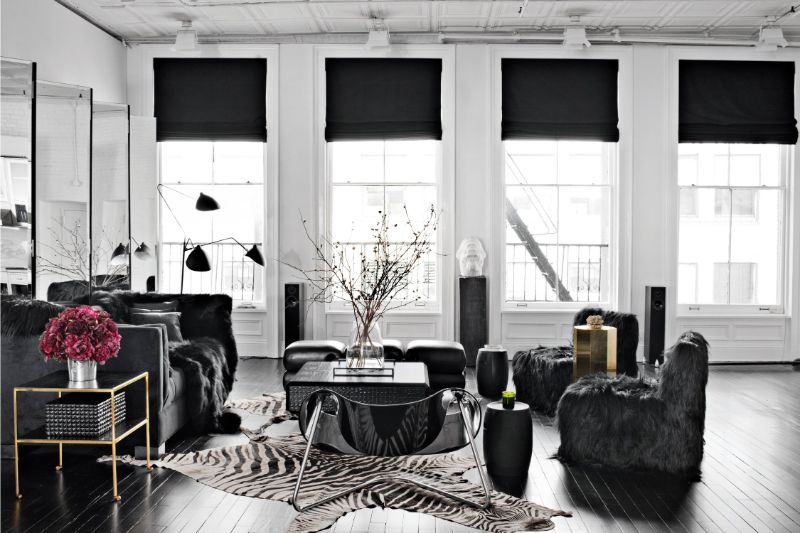 ryan korban Ryan Korban 's Design Projects: When The Old-World Meets Urban Style contemporary living room new york new york by ryan korban