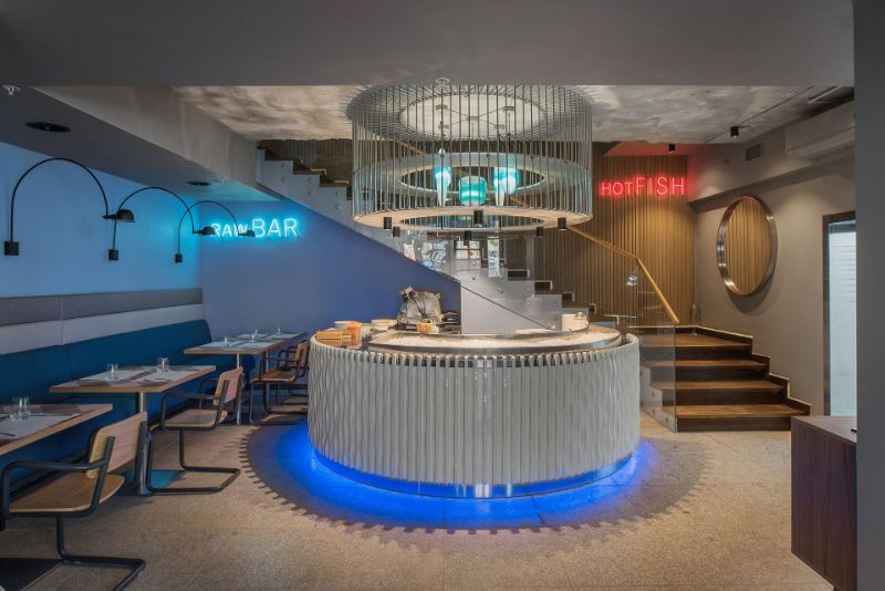 Kombinat Restaurant - A Project With Marine Influences by ARCHPOINT archpoint Kombinat Restaurant – A Project With Marine Influences by ARCHPOINT Kombinat Restaurant A Project With Marine Influences by ARCHPOINT 10
