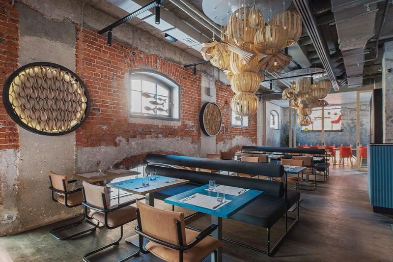 Kombinat Restaurant - A Project With Marine Influences by ARCHPOINT archpoint Kombinat Restaurant – A Project With Marine Influences by ARCHPOINT Kombinat Restaurant A Project With Marine Influences by ARCHPOINT 5
