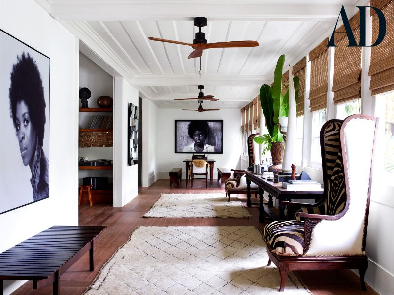 Lenny Kravitz's Modern Home in The Deep Part of The Brazilian Jungle
