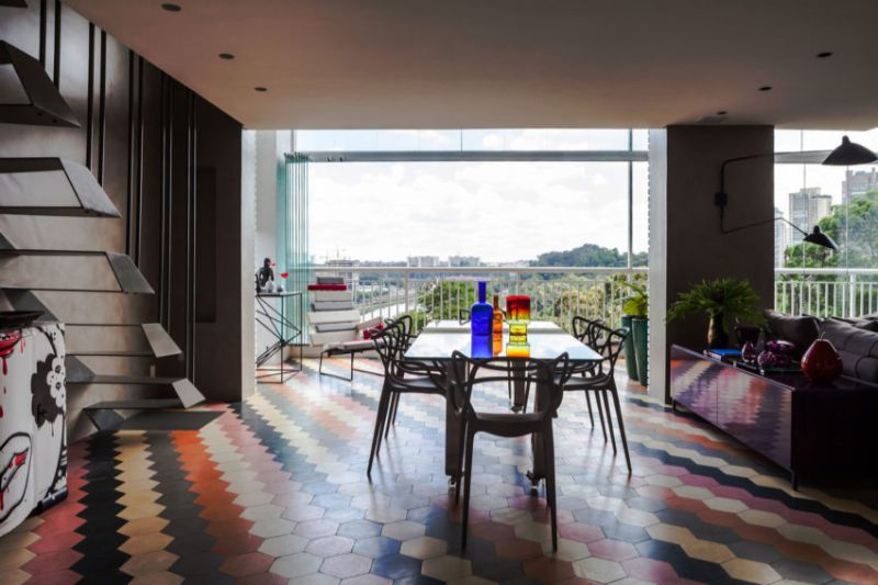 Panamby: One Apartment Filled With Colorful Details by Fabio Galeazzo fabio galeazzo Panamby: One Apartment Filled With Colorful Details by Fabio Galeazzo Panamby One Apartment Filled With Colorful Details by Fabio Galeazzo 12
