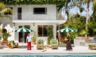 stylish home Step Inside Poppy and Cara Delevingne's Stylish Home in Los Angeles Step Inside Delevingnes Home in Los Angeles feature 335x201