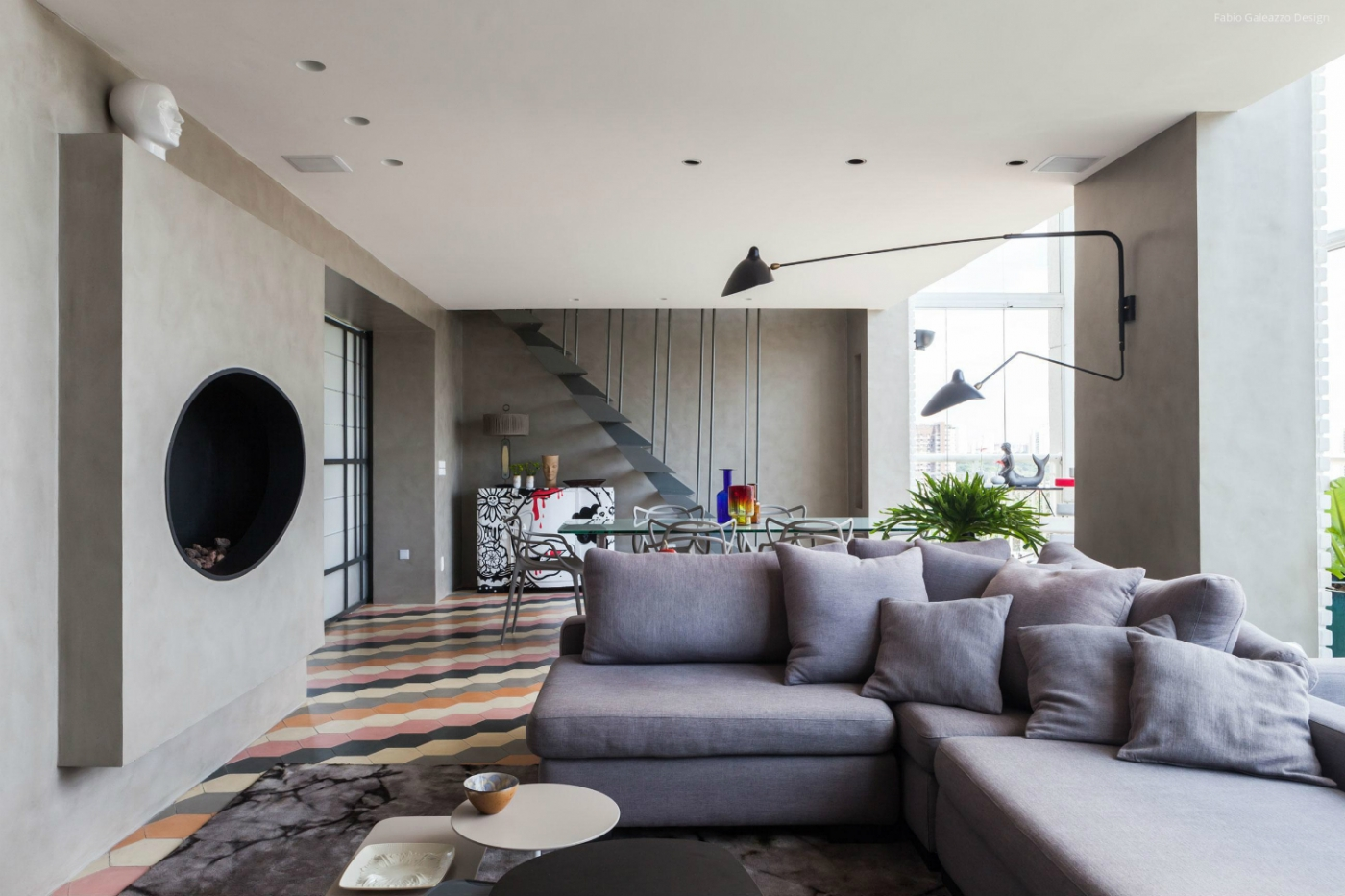 fabio galeazzo Panamby: One Apartment Filled With Colorful Details by Fabio Galeazzo featured 3 1400x933