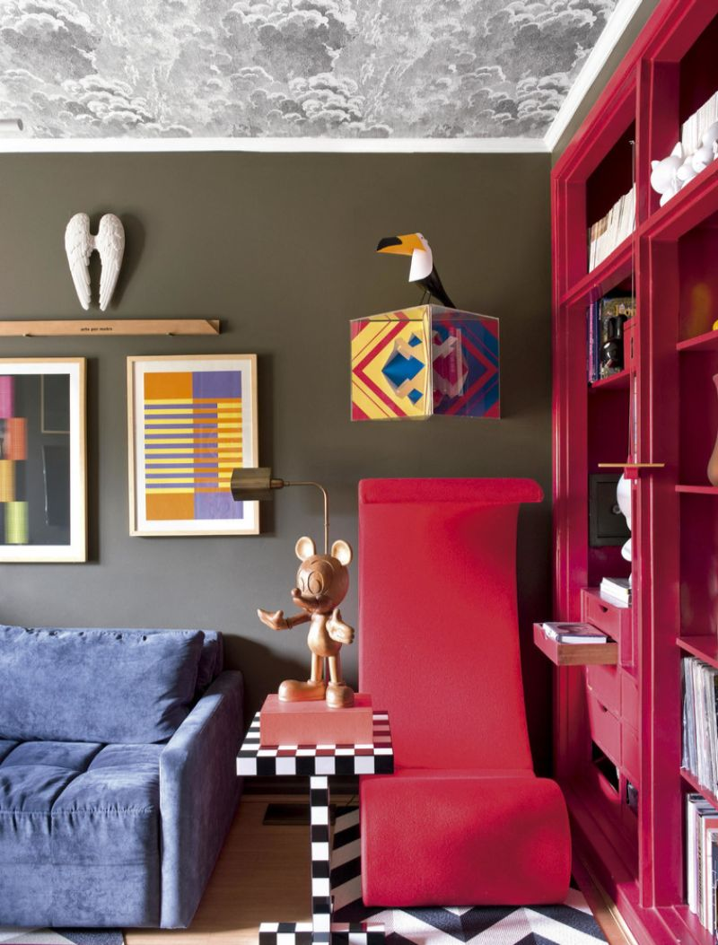 A Modern Home in Sao Paulo With A Splash Of Color In Every Corner