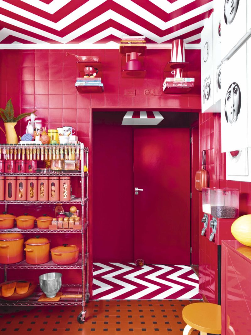 A Modern Home in Sao Paulo With A Splash Of Color In Every Corner modern home A Modern Home in Sao Paulo With A Splash Of Color In Every Corner A Home in Sao Paulo With A Splash Of Color In Every Corner 8