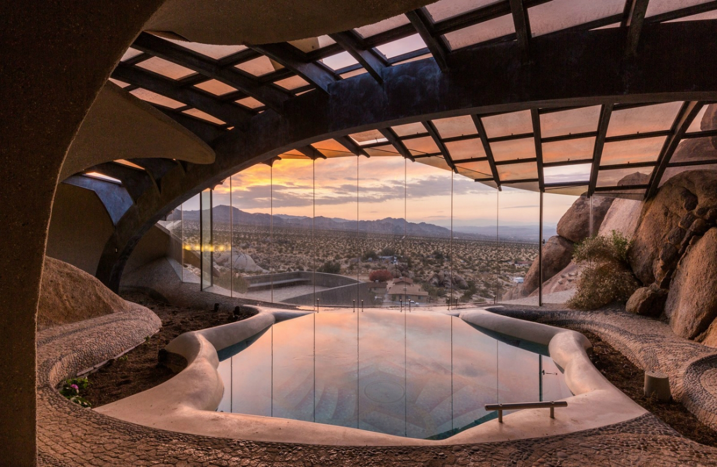 architecture art Doolittle House, An Example of Organic Architecture Art in Joshua Tree Doolittle House An Example of Organic Architecture in Joshua Tree feature 1400x913
