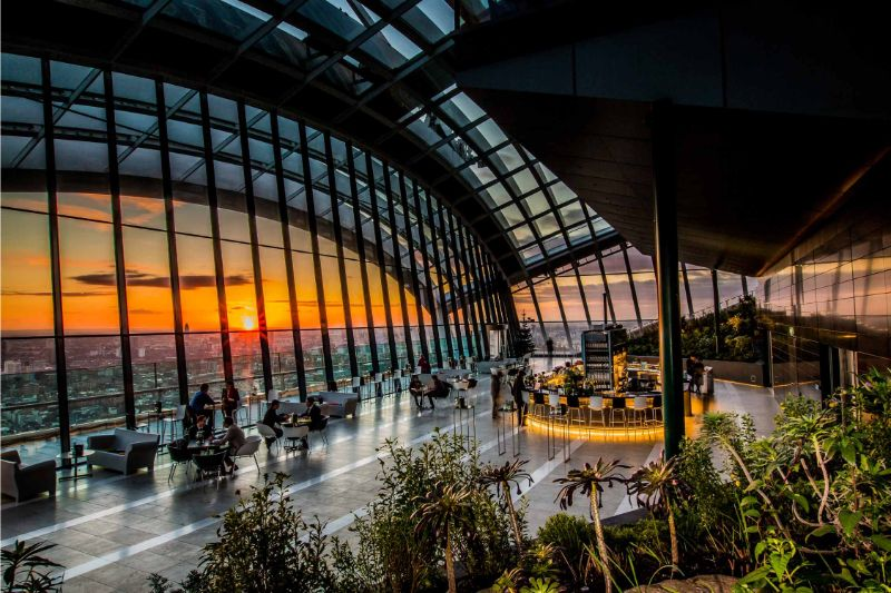 What To Do In London - The Ultimate Design Guide For The City Of Art what to do in london What To Do In London – The Ultimate Design Guide For The City Of Art Sky Garden Restaurant