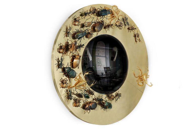 10 Modern Mirrors That Will Bring Sophistication To Your Home Décor modern mirrors 10 Modern Mirrors That Will Bring Sophistication To Your Home Décor convex metamorphosis 03