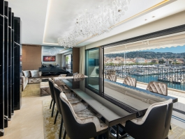 french apartment An Opulent French Apartment That Overlooks The Port Of Cannes feature 265x200