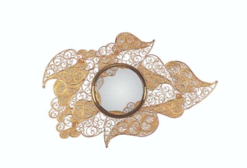 10 Modern Mirrors That Will Bring Sophistication To Your Home Décor modern mirrors 10 Modern Mirrors That Will Bring Sophistication To Your Home Décor filigree mirror 01
