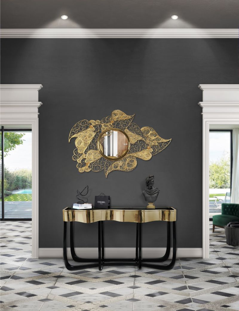 10 Modern Mirrors That Will Bring Sophistication To Your Home Décor modern mirrors 10 Modern Mirrors That Will Bring Sophistication To Your Home Décor filigree mirror hr 01