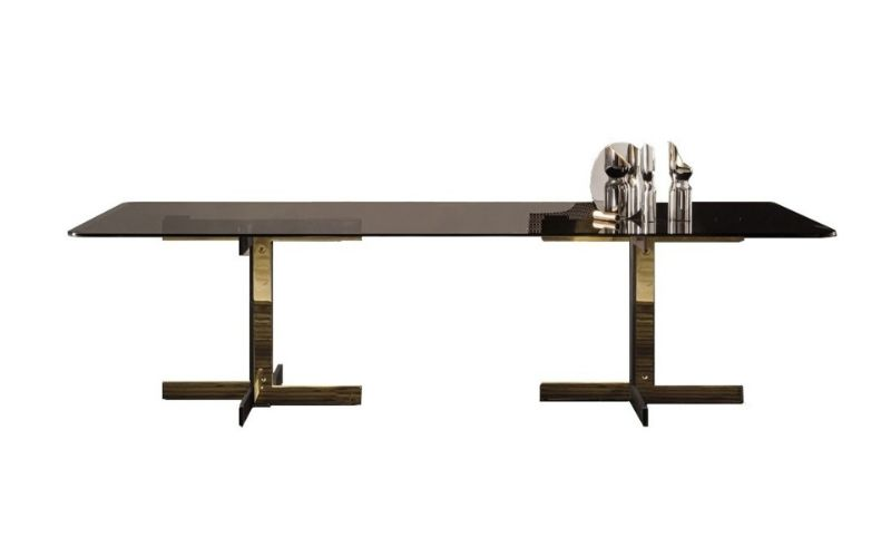 Refined and Modern Dining Tables For Your Astonishing Dining Room modern dining tables Refined and Modern Dining Tables For Your Astonishing Dining Room Catlin by Minotti