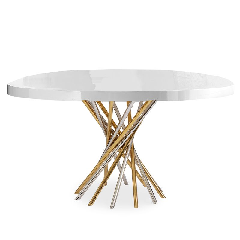 Refined and Modern Dining Tables For Your Astonishing Dining Room modern dining tables Refined and Modern Dining Tables For Your Astonishing Dining Room ELECTRUM DINING TABLE by Jonathan Adler