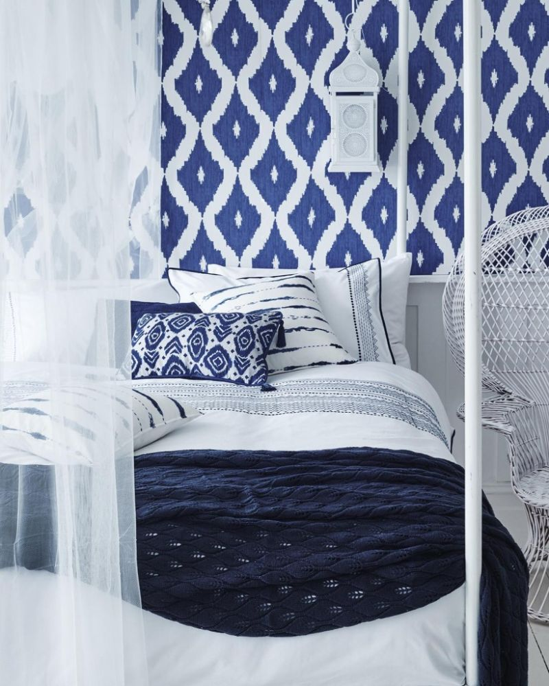Electric Interior Design Trends in Indigo Blue Electric Interior Design Ideas in Indigo Blue 10 1