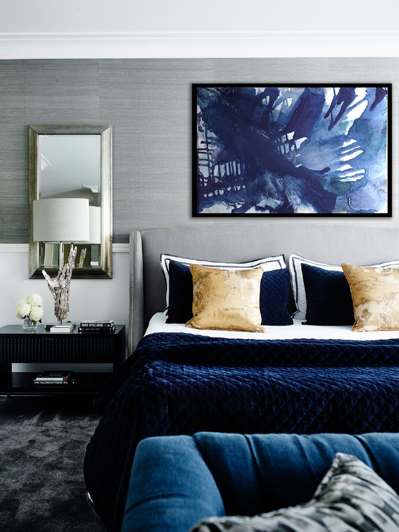 Electric Interior Design Trends in Indigo Blue Electric Interior Design Ideas in Indigo Blue 11
