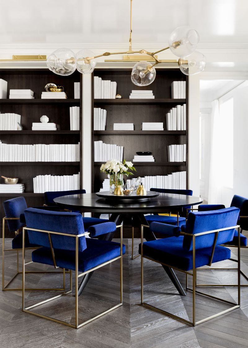 Electric Interior Design Trends in Indigo Blue Electric Interior Design Ideas in Indigo Blue 5 1