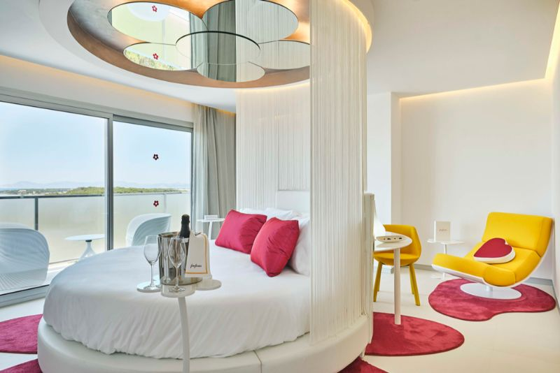 Formentera's First Five-Star Luxury Hotel Has A 60's Hippie Vibe Formenteras First Five Star Hotel Has A 60s Hippie Vibe 5