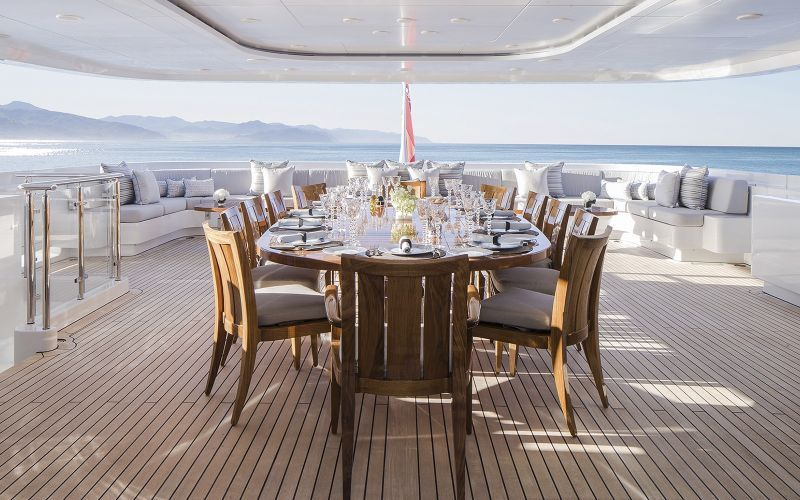 Discover The 10 Most Remarkable Superyacht Top Interior Designers top interior designers Discover The 10 Most Remarkable Superyacht Top Interior Designers H2 Yacht Turquoises Timeless Elegance 2