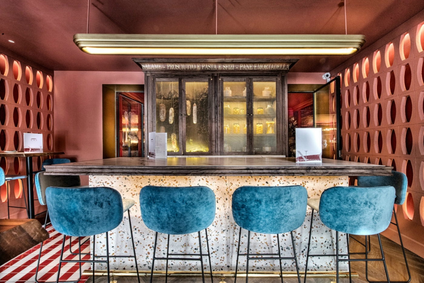 restaurant design 'Noi Italian', A Restaurant Design Full of Pop Aesthetic Noi Italian A Restaurant Full of Pop Aesthetic feature 1400x933