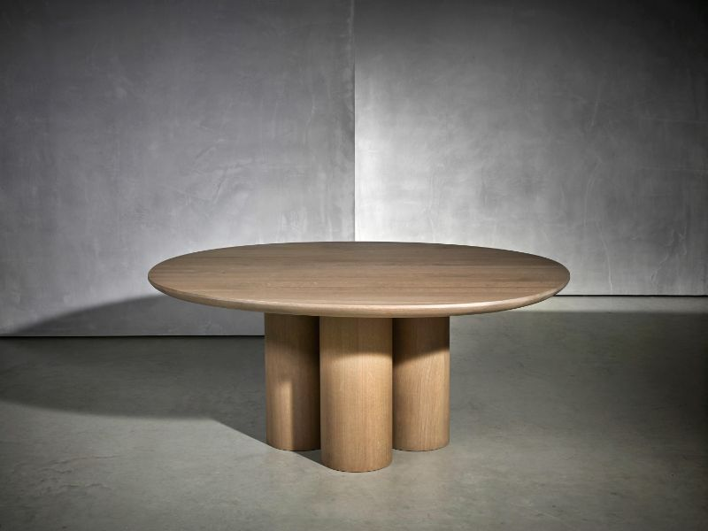 Refined and Modern Dining Tables For Your Astonishing Dining Room modern dining tables Refined and Modern Dining Tables For Your Astonishing Dining Room OLLE DINING TABLE BY STUDIO PIET BOON