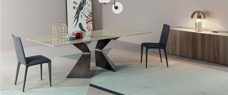 Refined and Modern Dining Tables For Your Astonishing Dining Room modern dining tables Refined and Modern Dining Tables For Your Astonishing Dining Room Prora by Bonaldo