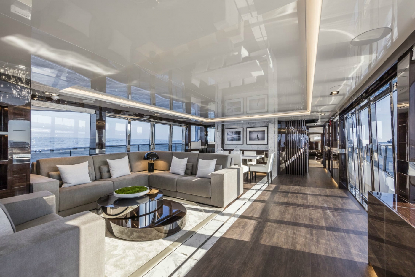 kelly hoppen Inside Pearl 65 Superyacht: A Supreme Interior Design by Kelly Hoppen featured 3 1400x933
