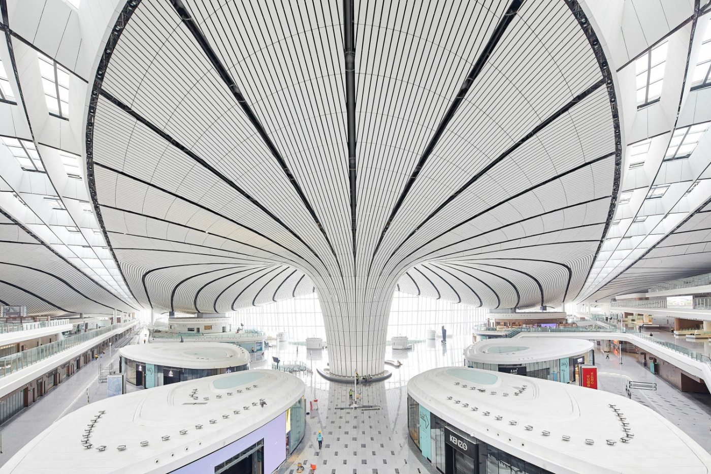 zaha hadid Beijing New Airport's Design By Zaha Hadid: An Ode To Modernity featured 4 1400x933
