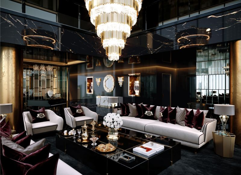 Opulence Meets Luxury: Inside A Glamorous Project By Celia Sawyer celia sawyer Opulence Meets Luxury: Inside A Glamorous Project By Celia Sawyer 1 Main View Updated Three