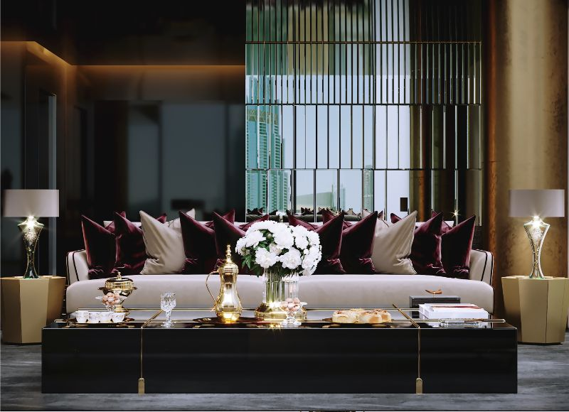 Opulence Meets Luxury: Inside A Glamorous Project By Celia Sawyer celia sawyer Opulence Meets Luxury: Inside A Glamorous Project By Celia Sawyer 3 Sofa Cameo 1