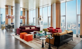 new york apartment A Modern New York Apartment That Overlooks The City's Skyline feature 1 335x201