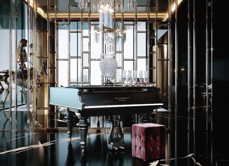 Opulence Meets Luxury: Inside A Glamorous Project By Celia Sawyer celia sawyer Opulence Meets Luxury: Inside A Glamorous Project By Celia Sawyer smelyiy proekt sovremennyiy interer ot selii soyer