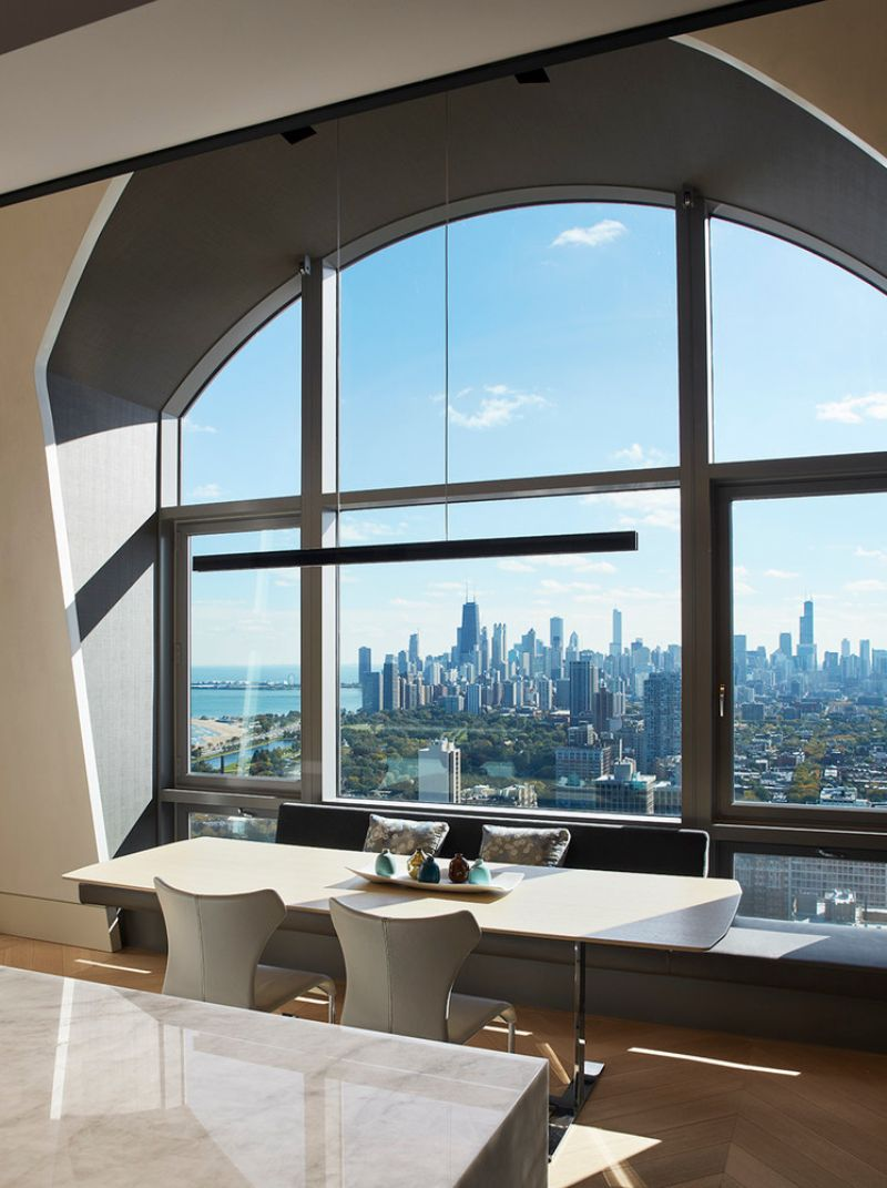 A Beautiful Modern Apartment that Meets Chicago's Skyline modern apartment A Beautiful Modern Apartment that Meets Chicago's Skyline A Beautiful Apartment that Meets Chicagos Skyline 5