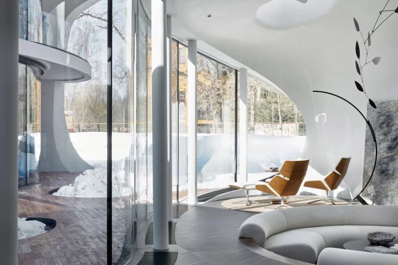 Organic Meets Futuristic Architectural Design: House in The Landscape architectural design Organic Meets Futuristic Architectural Design: House in The Landscape Organic Meets Futuristic Design House in The Landscape 10