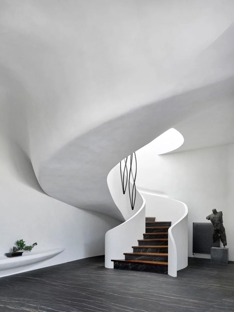 Organic Meets Futuristic Architectural Design: House in The Landscape architectural design Organic Meets Futuristic Architectural Design: House in The Landscape Organic Meets Futuristic Design House in The Landscape 11