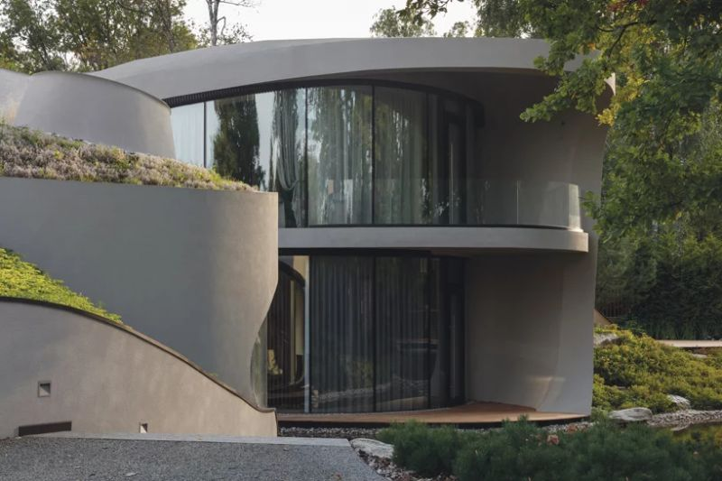 Organic Meets Futuristic Architectural Design: House in The Landscape architectural design Organic Meets Futuristic Architectural Design: House in The Landscape Organic Meets Futuristic Design House in The Landscape 5