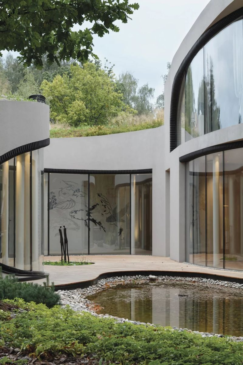 Organic Meets Futuristic Architectural Design: House in The Landscape architectural design Organic Meets Futuristic Architectural Design: House in The Landscape Organic Meets Futuristic Design House in The Landscape 6