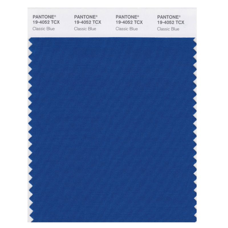 Pantone Color Of The Year 2020 - The Instilling Calm Classic Blue