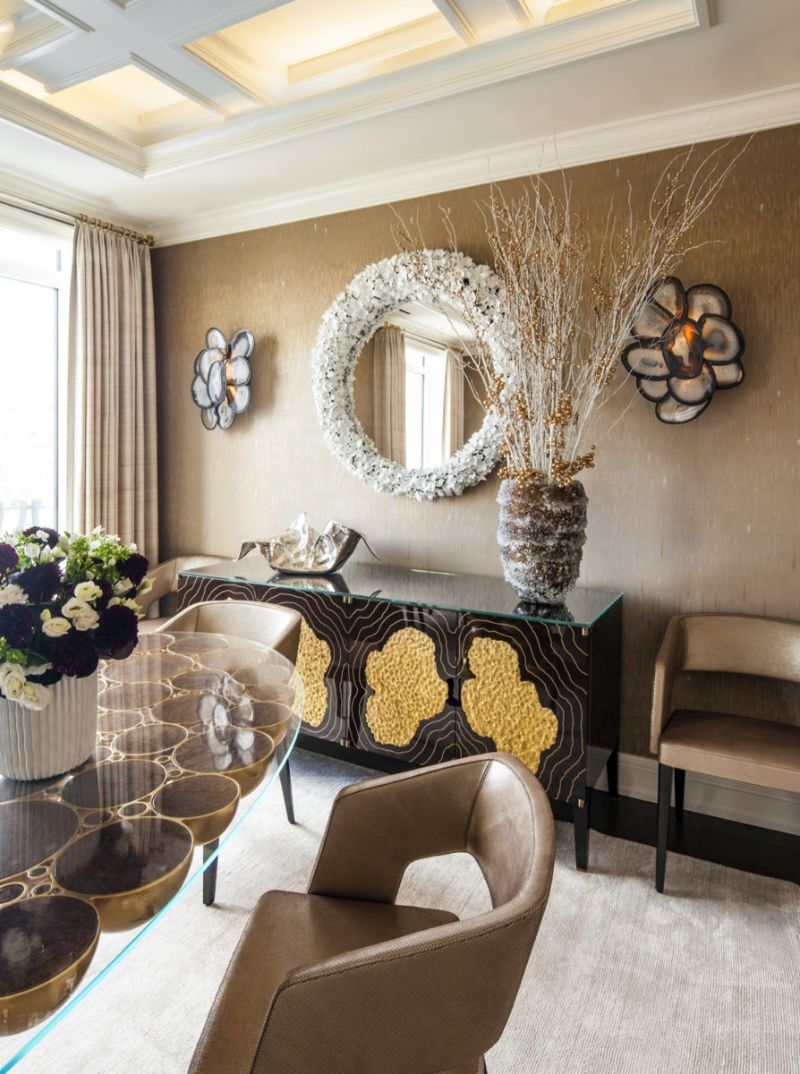A Luxury Penthouse Embellished With Love of Jewel-Like Surfaces luxury penthouse A Luxury Penthouse Embellished With Love of Jewel-Like Surfaces A Penthouse Embellished With Love of Jewel Like Surfaces 2