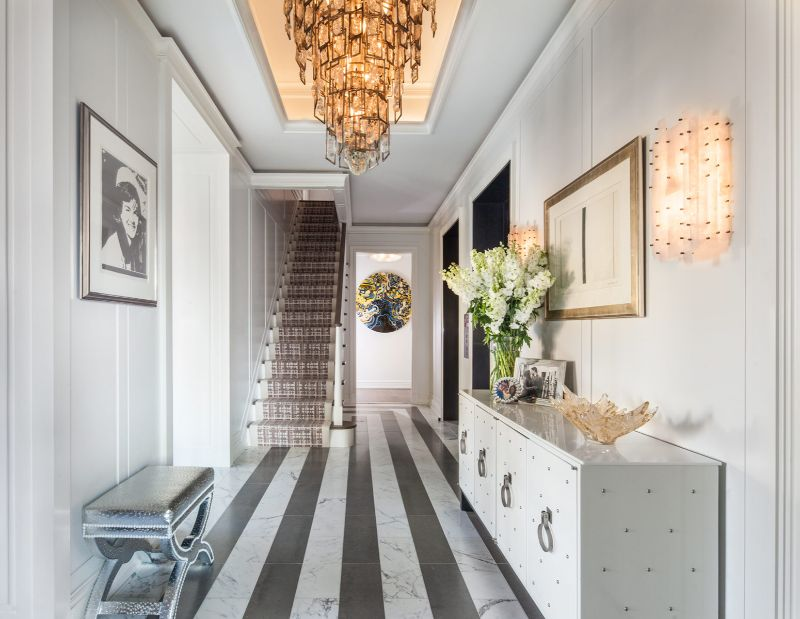 A Luxury Penthouse Embellished With Love of Jewel-Like Surfaces luxury penthouse A Luxury Penthouse Embellished With Love of Jewel-Like Surfaces A Penthouse Embellished With Love of Jewel Like Surfaces 3