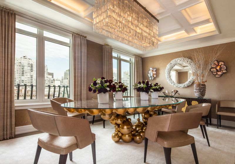 A Luxury Penthouse Embellished With Love of Jewel-Like Surfaces luxury penthouse A Luxury Penthouse Embellished With Love of Jewel-Like Surfaces A Penthouse Embellished With Love of Jewel Like Surfaces 4