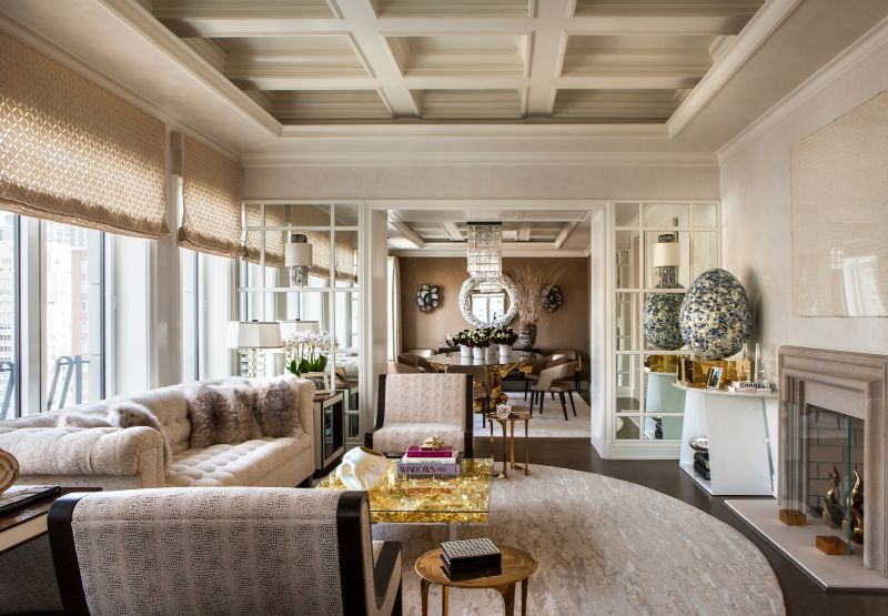 A Luxury Penthouse Embellished With Love of Jewel-Like Surfaces luxury penthouse A Luxury Penthouse Embellished With Love of Jewel-Like Surfaces A Penthouse Embellished With Love of Jewel Like Surfaces 5