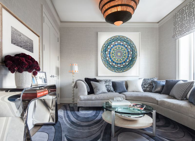 A Luxury Penthouse Embellished With Love of Jewel-Like Surfaces luxury penthouse A Luxury Penthouse Embellished With Love of Jewel-Like Surfaces A Penthouse Embellished With Love of Jewel Like Surfaces 7