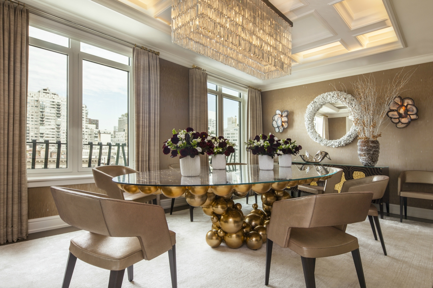 luxury penthouse A Luxury Penthouse Embellished With Love of Jewel-Like Surfaces A Penthouse Embellished With Love of Jewel Like Surfaces feature 1400x933