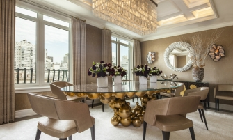 luxury penthouse A Luxury Penthouse Embellished With Love of Jewel-Like Surfaces A Penthouse Embellished With Love of Jewel Like Surfaces feature 335x201