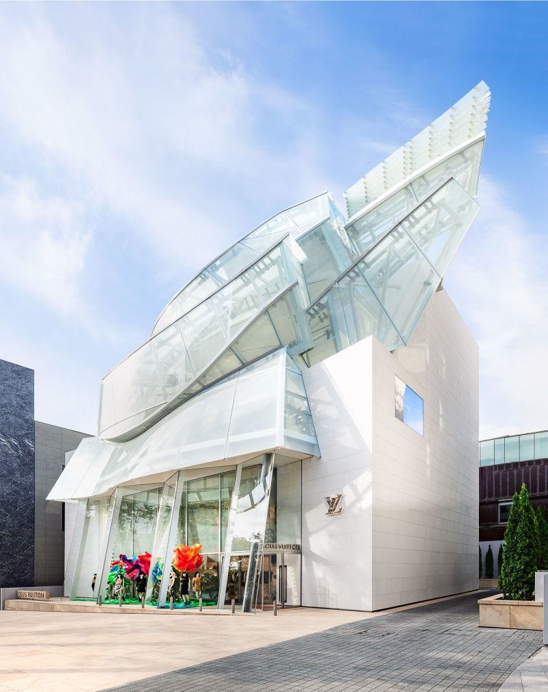 Frank Gehry and Peter Marino Design A Louis Vuitton Store in Seoul frank gehry Frank Gehry and Peter Marino Design A Louis Vuitton Store in Seoul FrankGehry and PeterMarino Design A LouisVuitton Store in Seoul 11