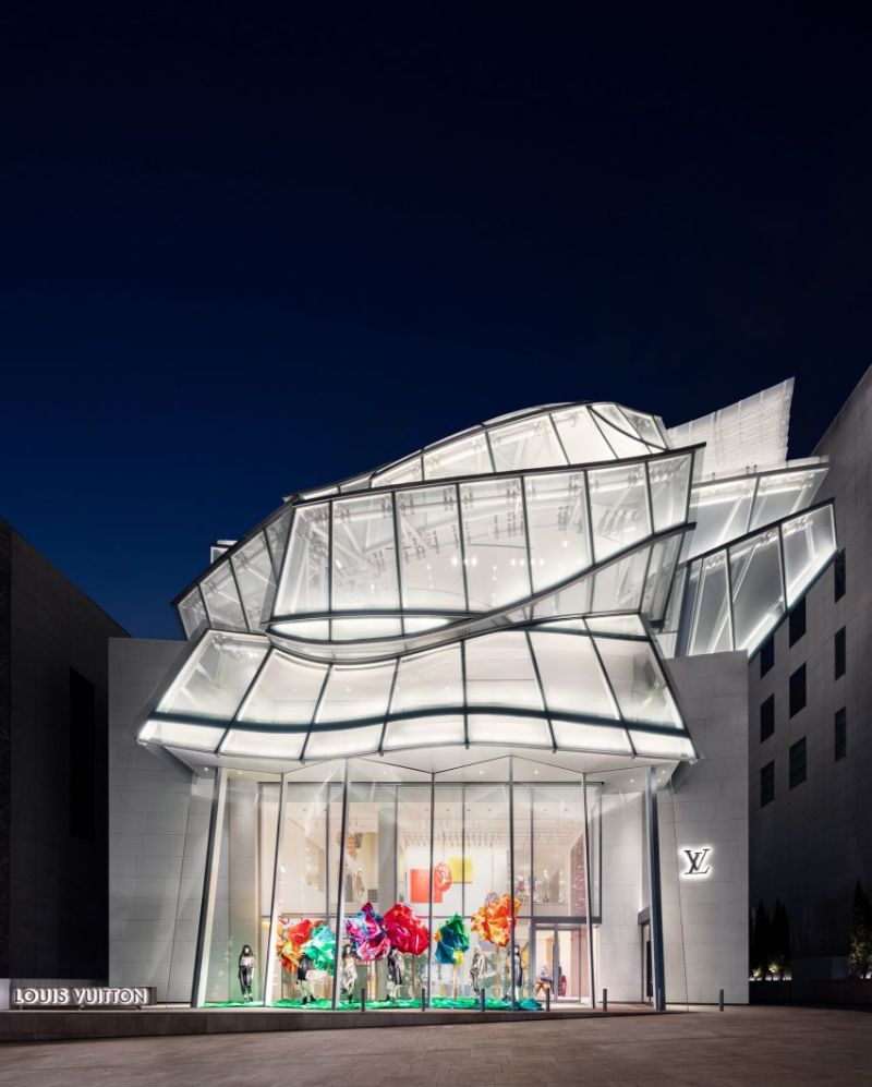 Frank Gehry and Peter Marino Design A Louis Vuitton Store in Seoul frank gehry Frank Gehry and Peter Marino Design A Louis Vuitton Store in Seoul FrankGehry and PeterMarino Design A LouisVuitton Store in Seoul 12