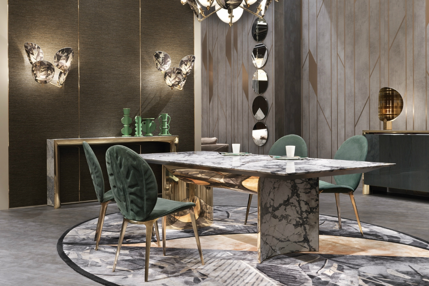 marble dining tables Precious Marble Dining Tables For Your Exclusive Home Design Precious Dining Tables For Your Exclusive Home Design feature 1400x933