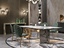 marble dining tables Precious Marble Dining Tables For Your Exclusive Home Design Precious Dining Tables For Your Exclusive Home Design feature 265x200